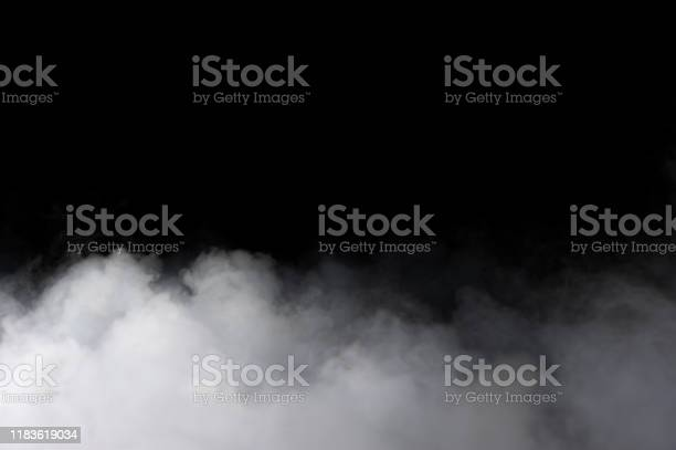 Photo of Realistic Dry Ice Smoke Clouds Fog