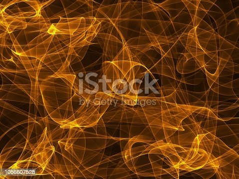 1067101542 istock photo Realistic fire flame special effect on black background 1056607528