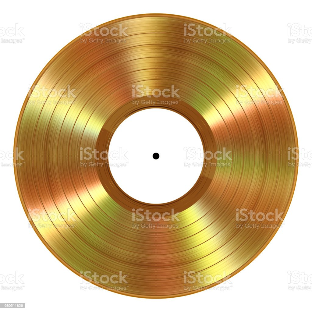 Gold Colored Vinyl Gold Vinilo