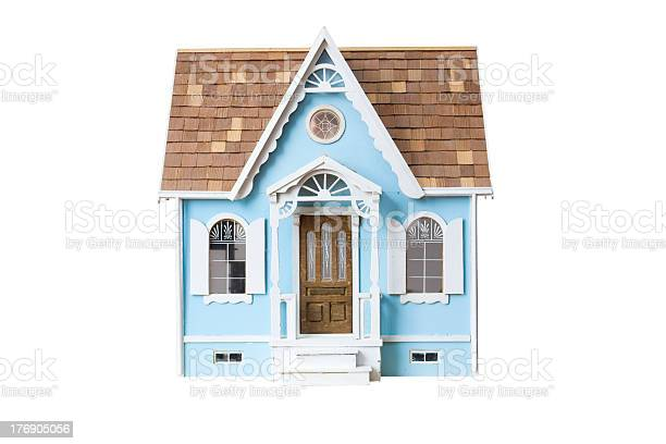 Realistic looking wooden dollhouse isolated on white with clipping picture id176905056?b=1&k=6&m=176905056&s=612x612&h=vo9qxyuwwfna8f4gfoyifz7mxg2kkgymb5ctvzl37ew=