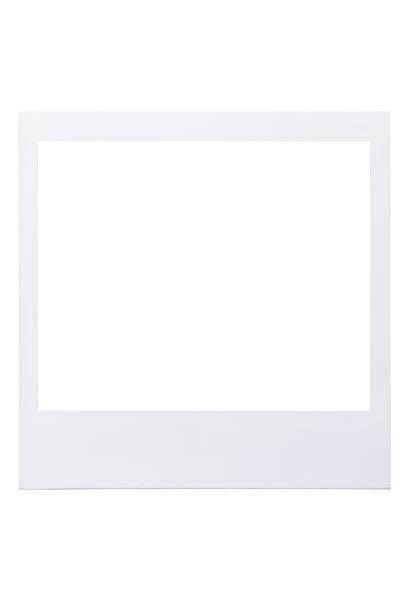 Realistische alte Bilderrahmen isoliert auf weißem Hintergrund – Foto