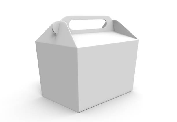 Realistic take away food box mock up set isolated on white background 3d render illustration. Blank white cardboard carry package, product container, empty food box. Take away food box template. Realistic take away food box mock up set isolated on white background 3d render illustration. Blank white cardboard carry package, product container, empty food box. chinese takeout stock pictures, royalty-free photos & images