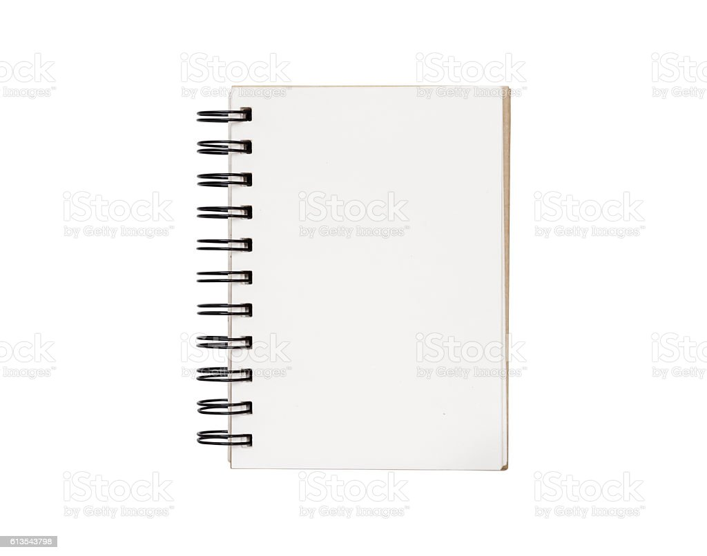 Realistic template notebook school business diary on white stock realistic template notebook school business diary on white royalty free stock photo wajeb Images