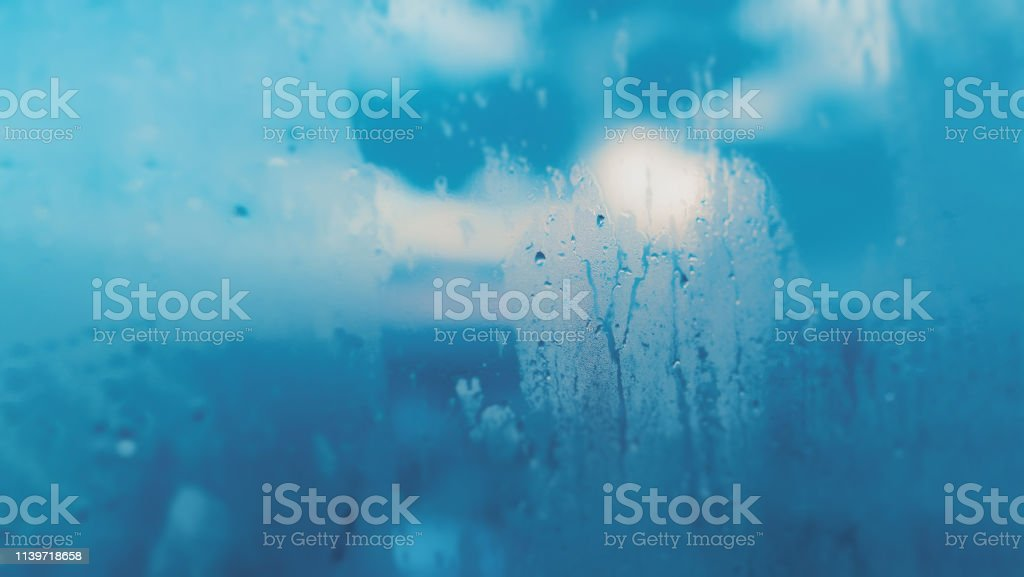 Realistic water droplets for decoration and covering on the...