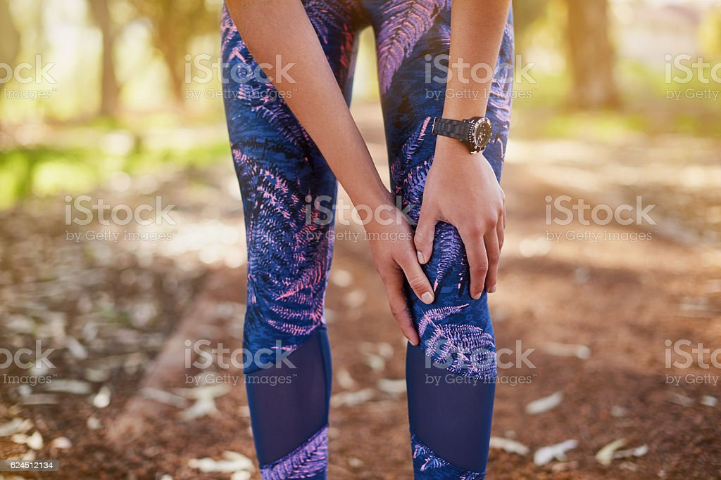 Realize that injury situations will occur stock photo