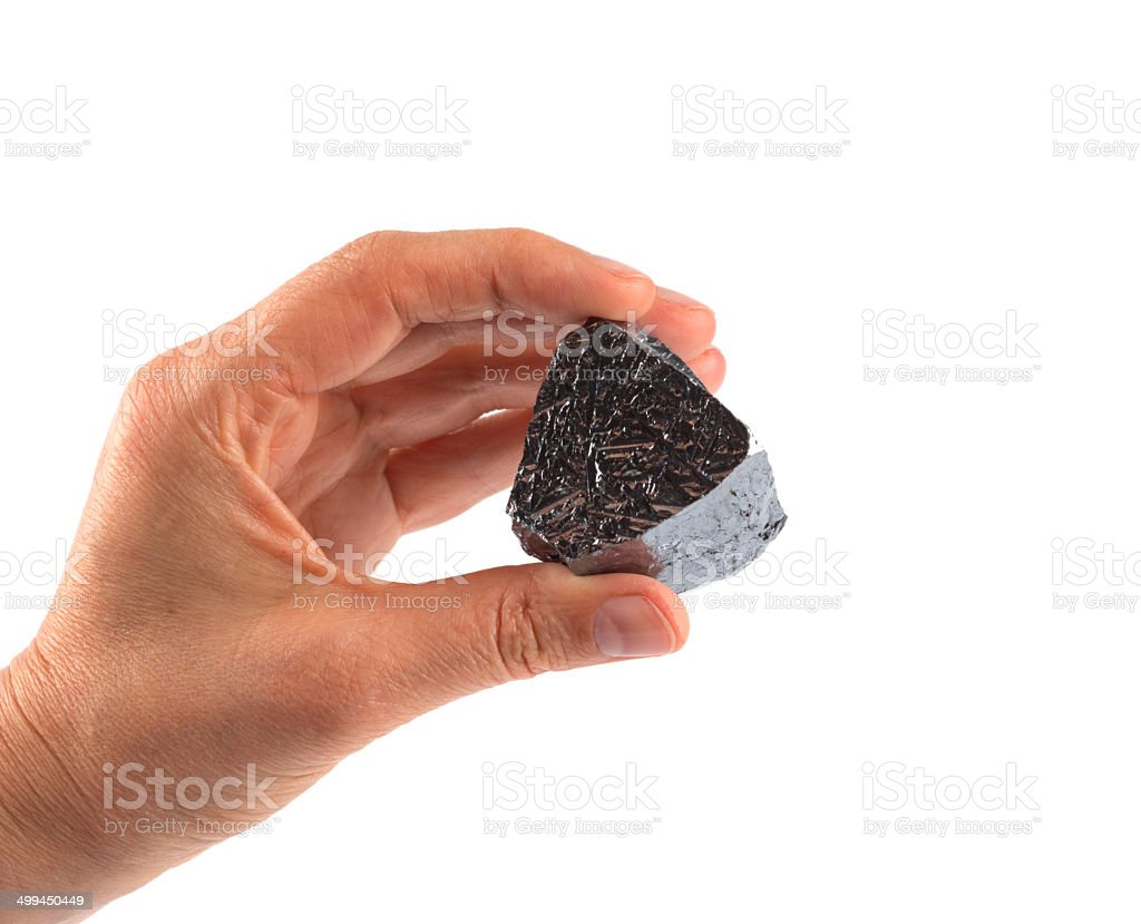 Really and pure chemical Elements - Silicium Si stock photo