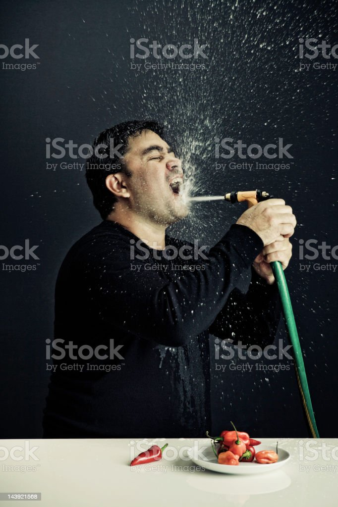 Really Hot Pepper stock photo