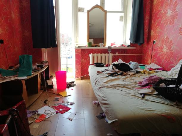 wirklich chaotisch Zimmer – Foto