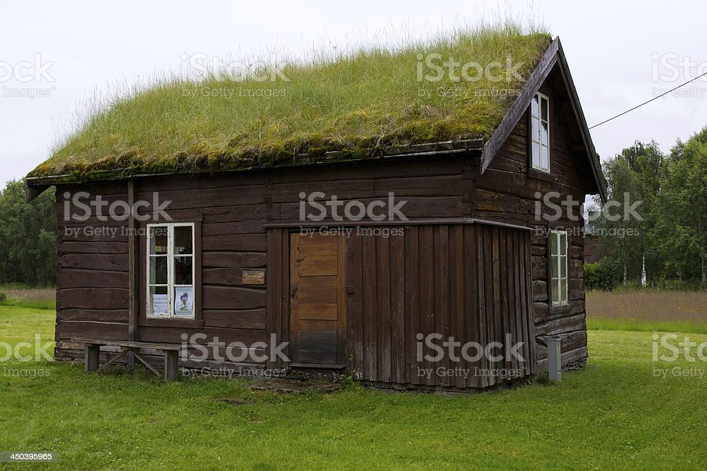 Really old house royalty-free stock photo