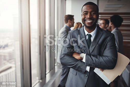 istock I really stood my ground in that meeting 897976892