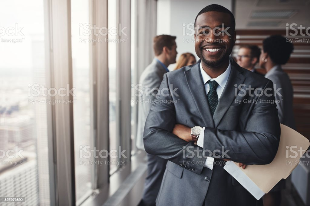 I really stood my ground in that meeting stock photo