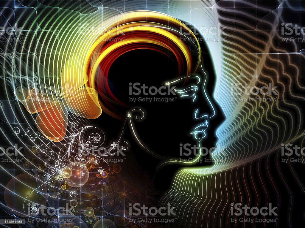Realms of Human Mind royalty-free stock photo