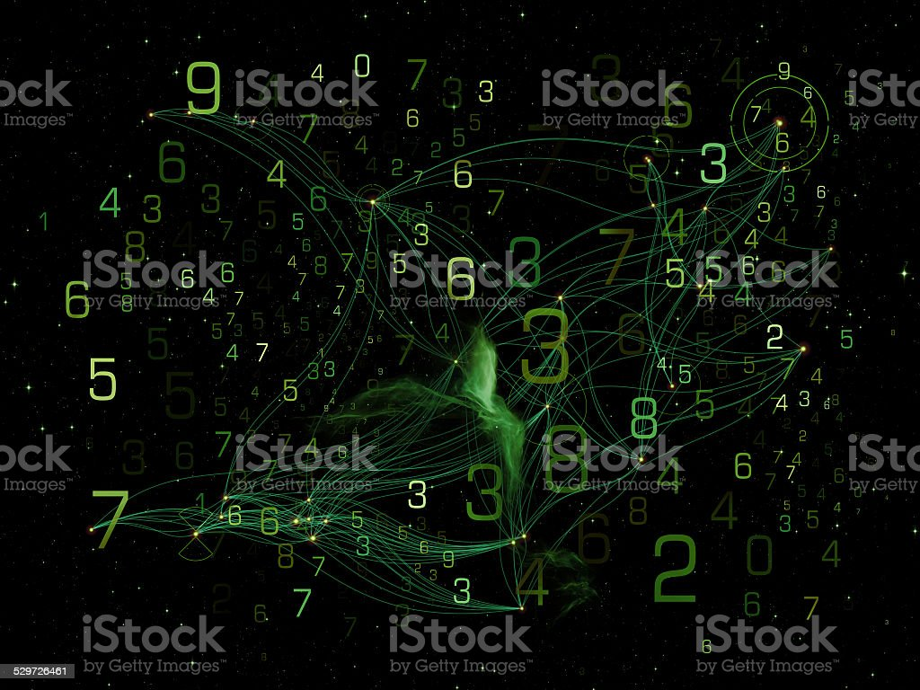 Realms of Network stock photo