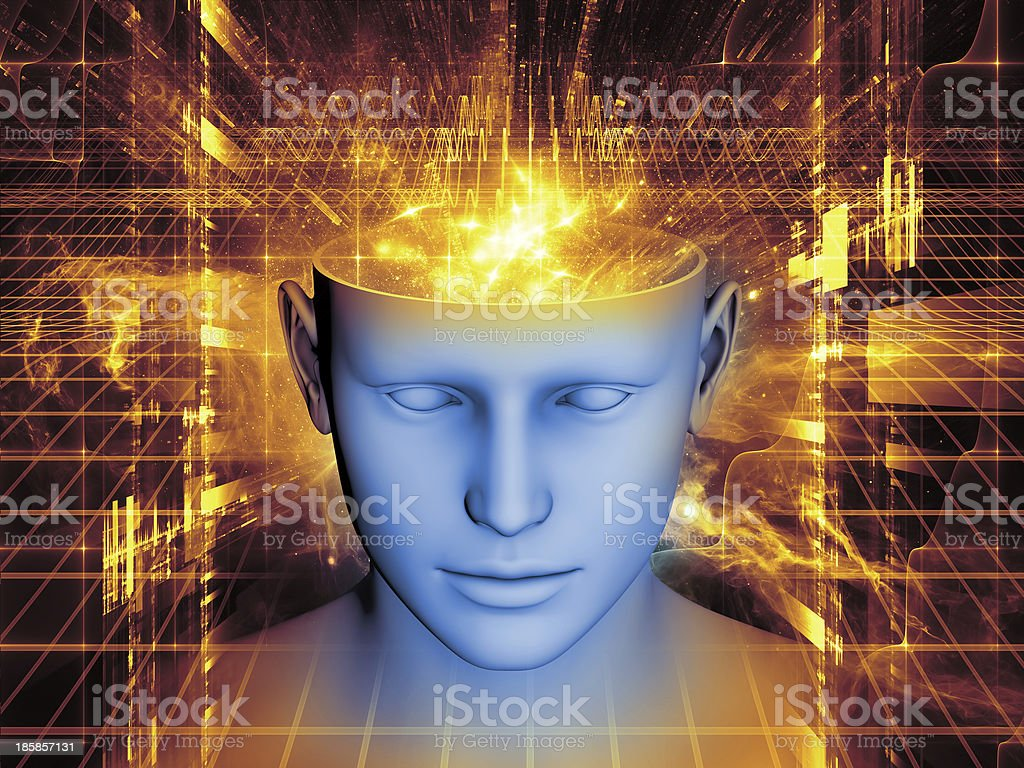 Realms of the Mind royalty-free stock photo