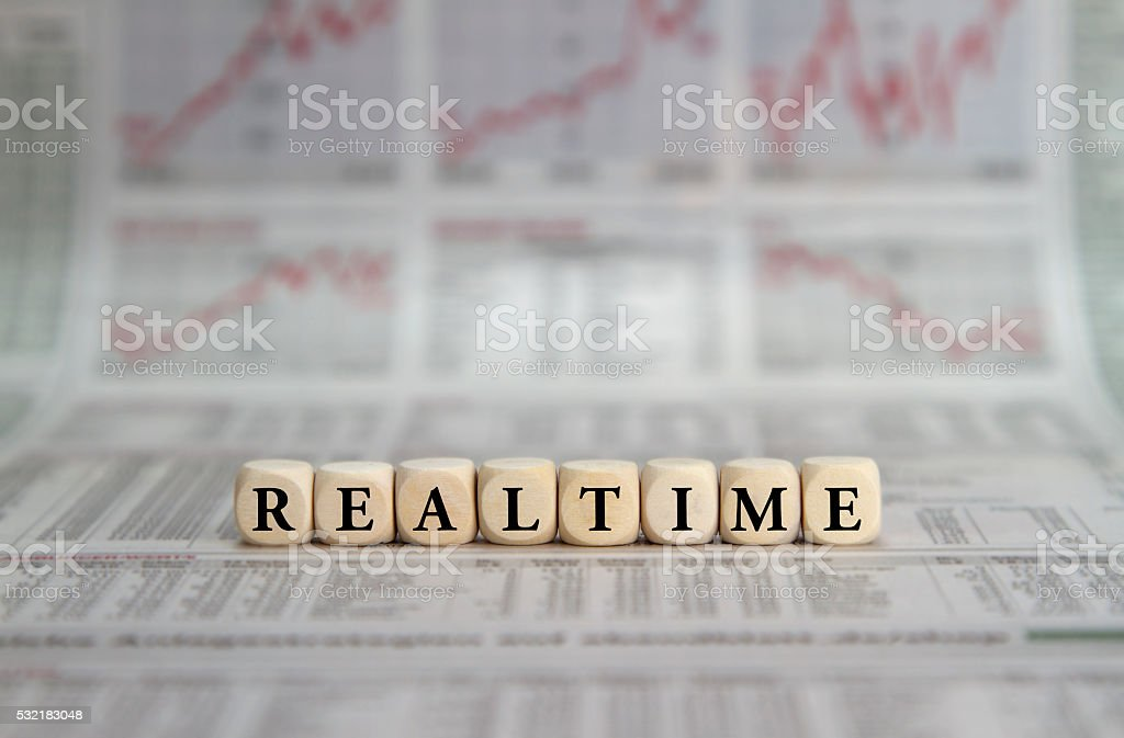 Realtime stock photo