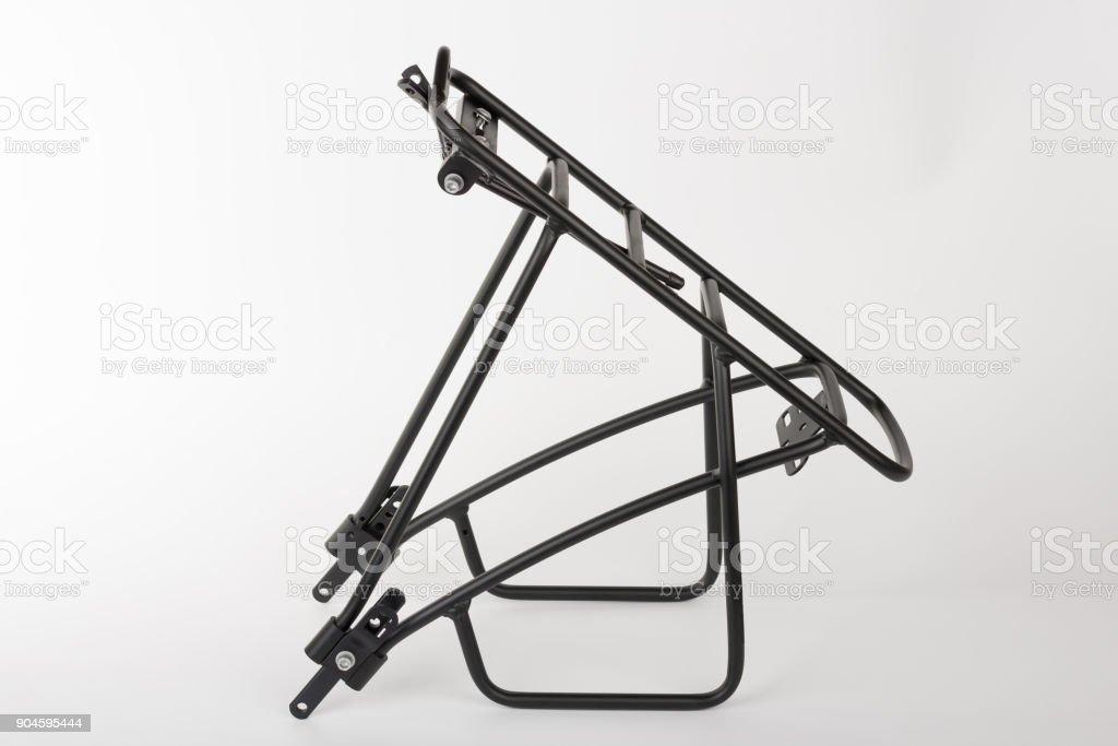 Portabicicletas trasero de perfil cuadrado de aluminio - foto de stock