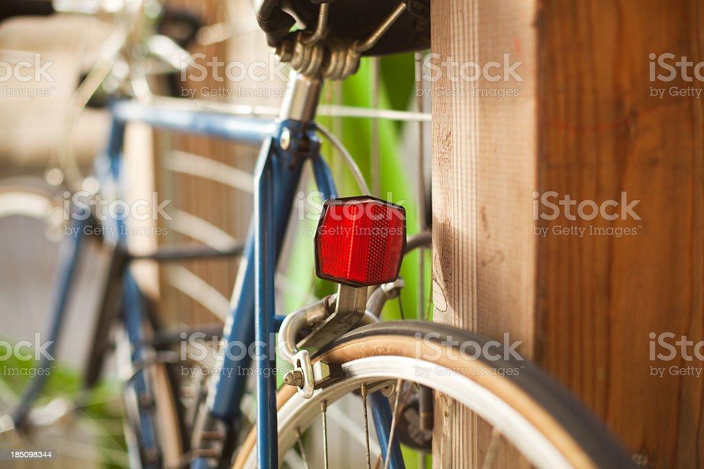 Rear Bike Reflector royalty-free stock photo