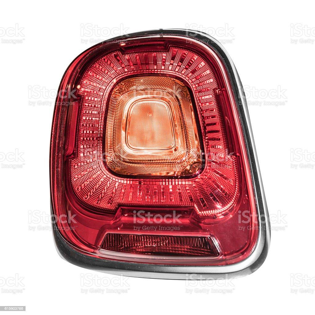 Rear car lights. stock photo