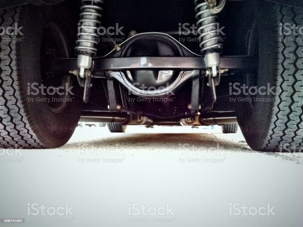 Rear Differential stock photo