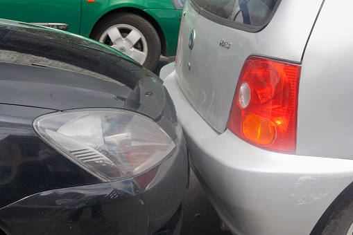 684793794 istock photo Rear End Collision 521997173