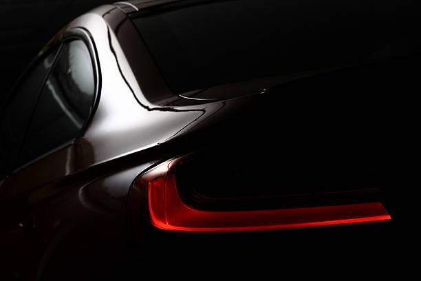 luce posteriore - close up auto foto e immagini stock
