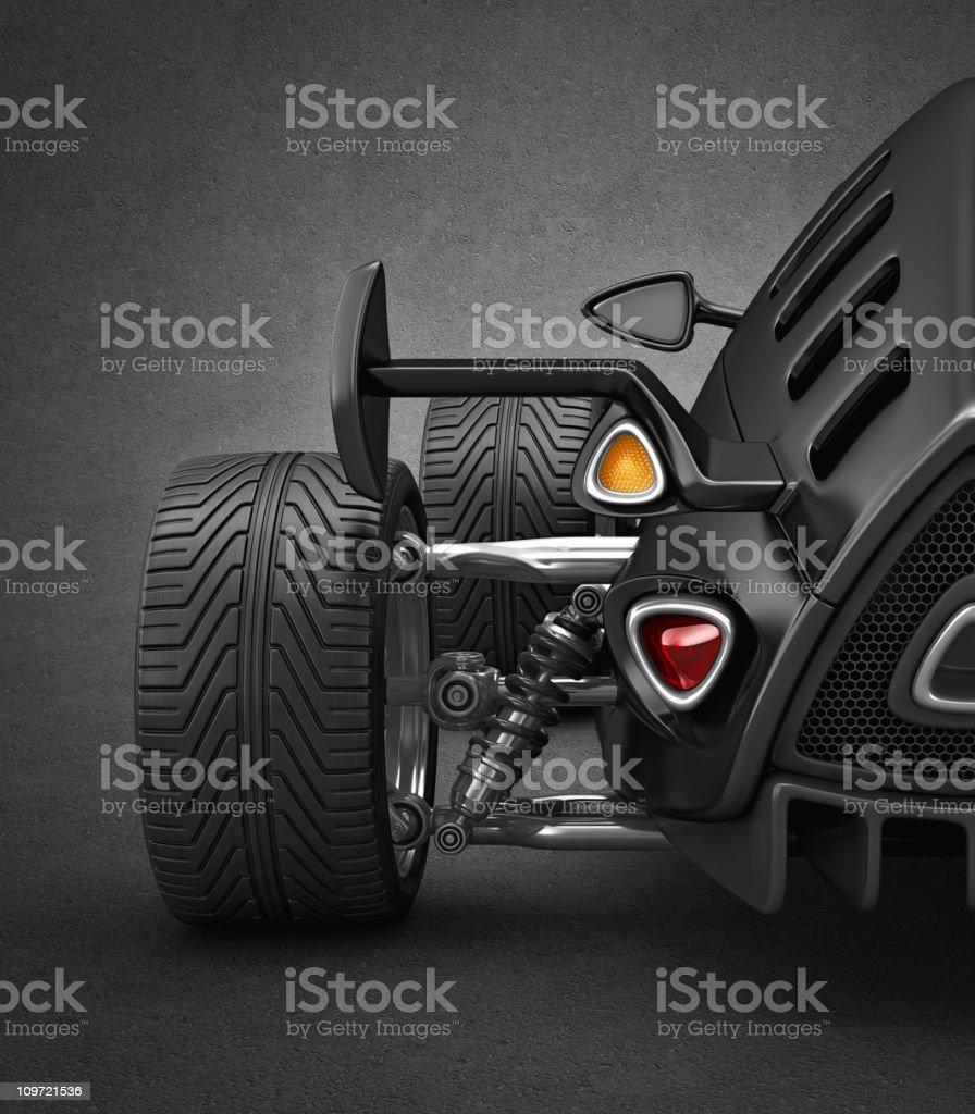rear lights stock photo