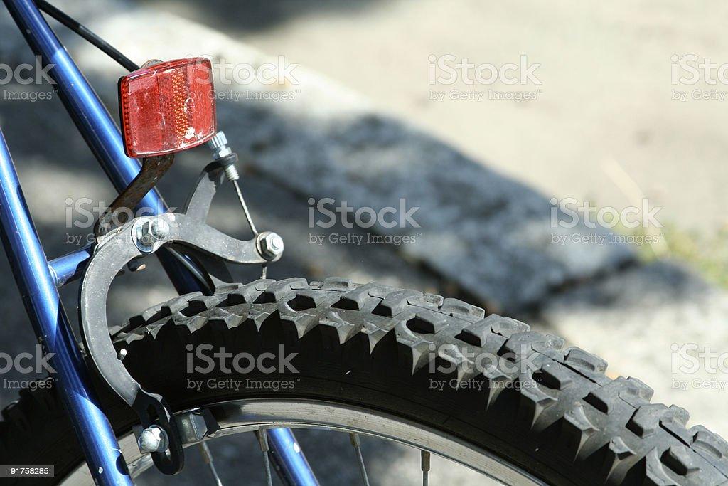 Rear of Bike stock photo