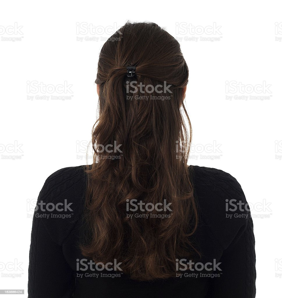 Rear royalty-free stock photo