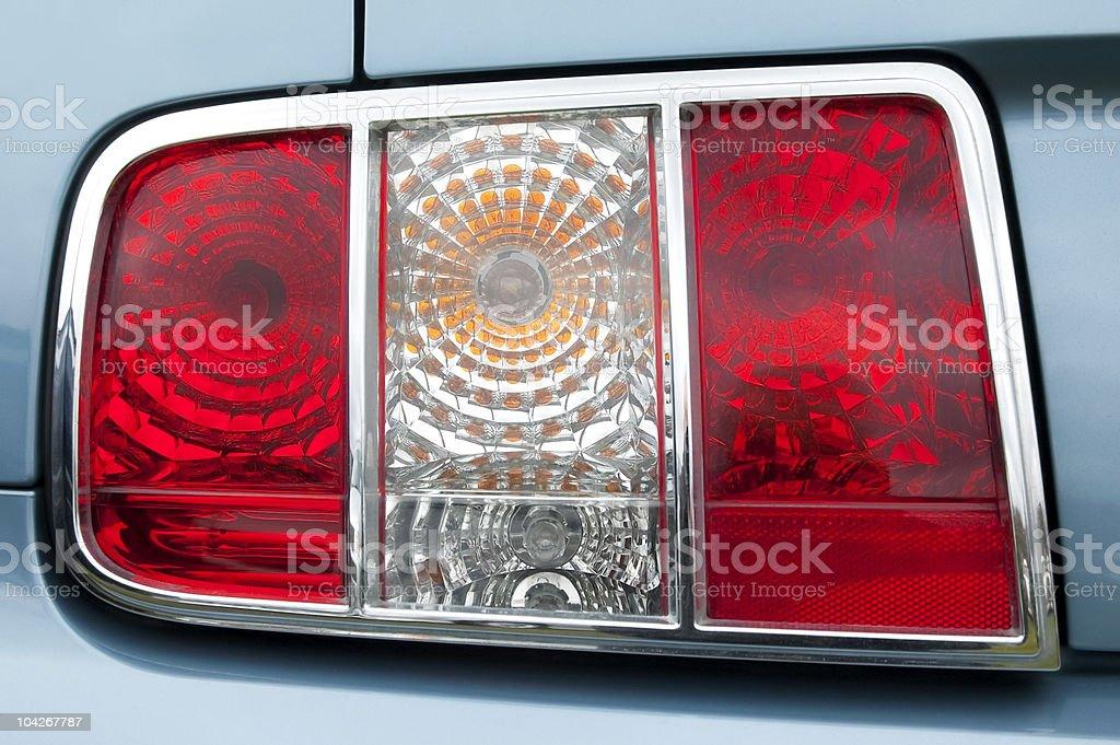 rear tail lights stock photo
