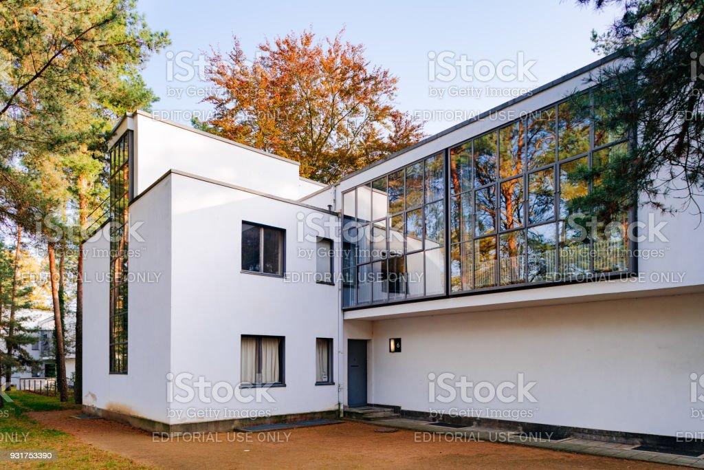 Arrière vue maison de maître de Kandisnky / Klee Master - Bauhaus Dessau - Photo