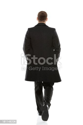 Rear view of a businessman walkinghttp://www.twodozendesign.info/i/1.png