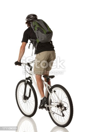 Rear view of cyclist riding a bicyclehttp://www.twodozendesign.info/i/1.png
