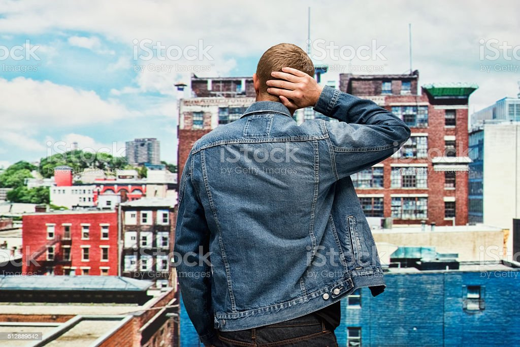 Royalty Free Denim Jacket Back Pictures Images And Stock Photos