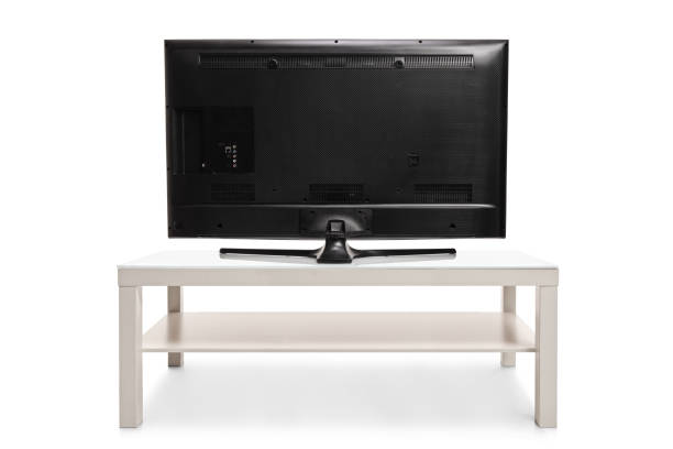 rear view shot of a television - rear view stock pictures, royalty-free photos & images
