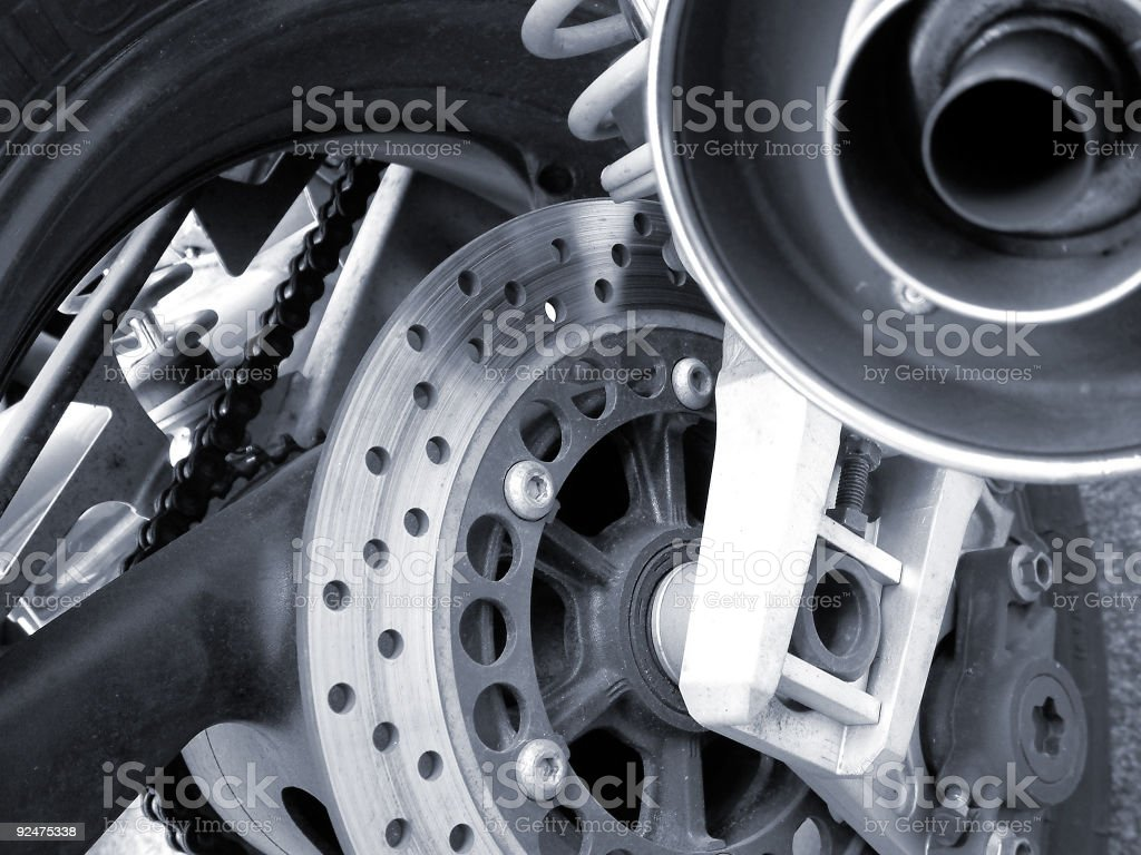 rear wheel stock photo