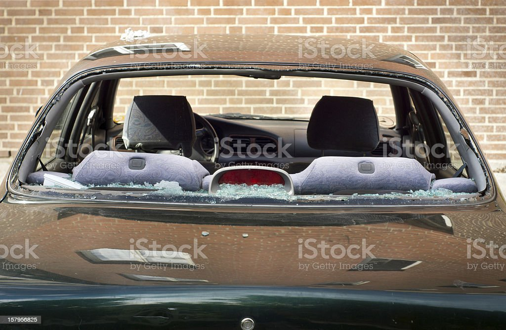Das Fenster Auto kaputt – Foto