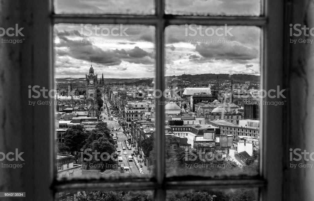 Rear Window stock photo
