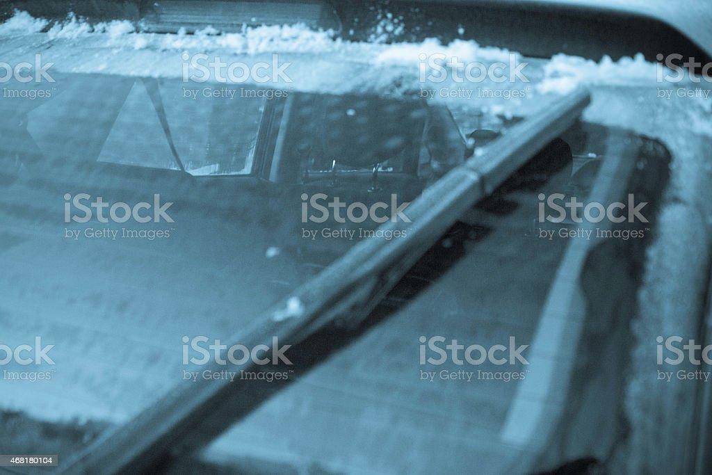 Hintere Windschutzscheibe frost – Foto