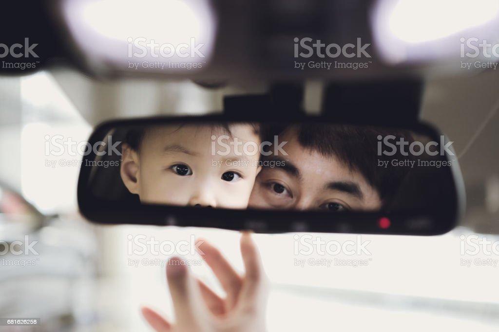 Espelho retrovisor - foto de acervo