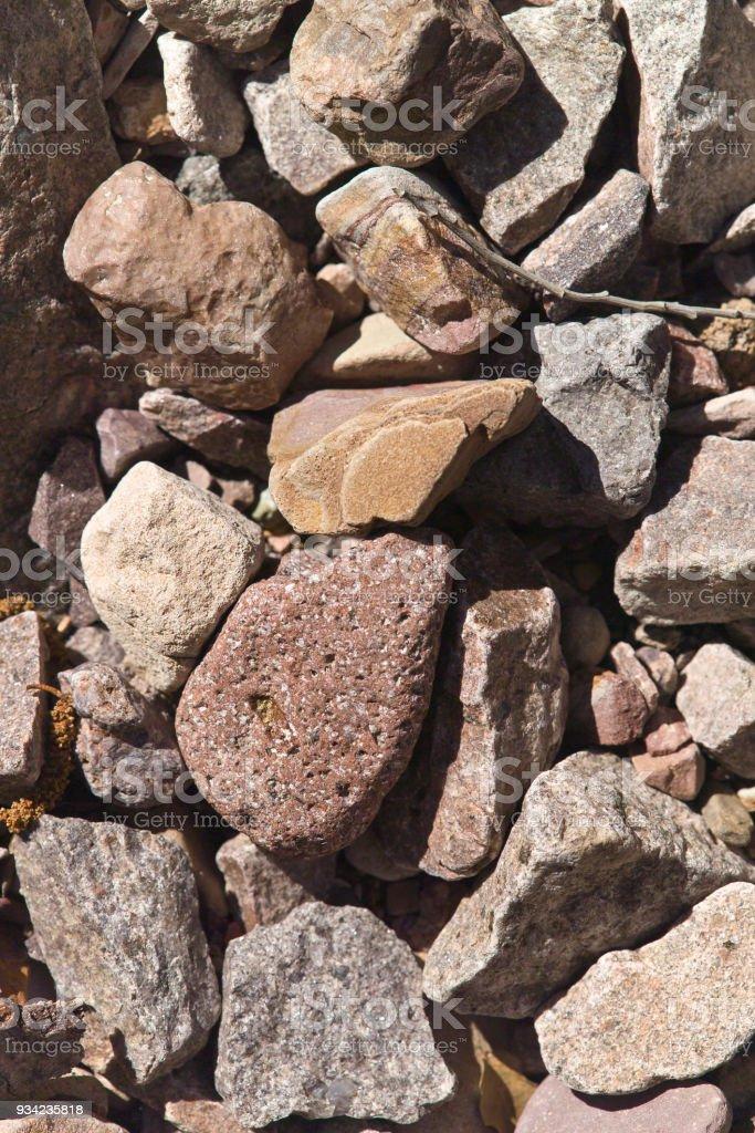 Reavis Creek Rock Texture stock photo
