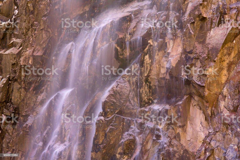 Reavis Falls Abstract II stock photo