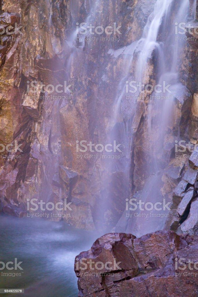 Reavis Falls Abstract XII stock photo