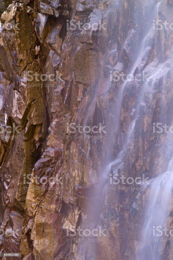 Reavis Falls Abstract XVIII stock photo