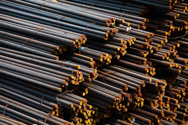 rebar - construction material stock photos and pictures