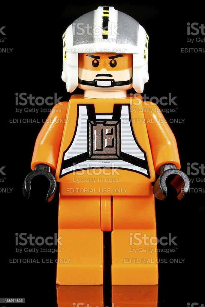 Rebel Pilot stock photo