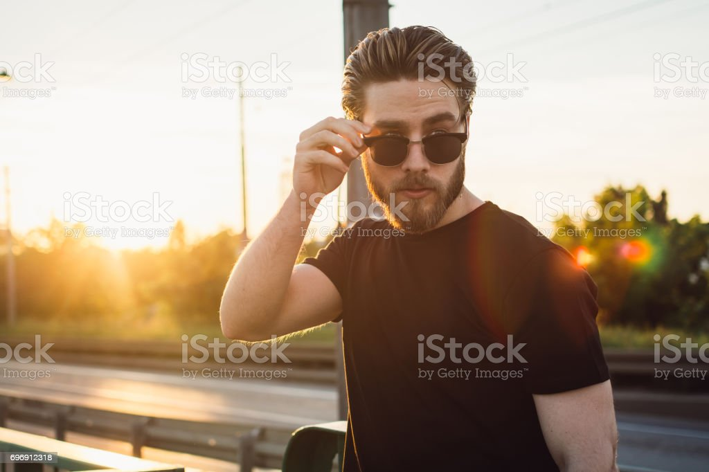 Rebel with a cause stock photo