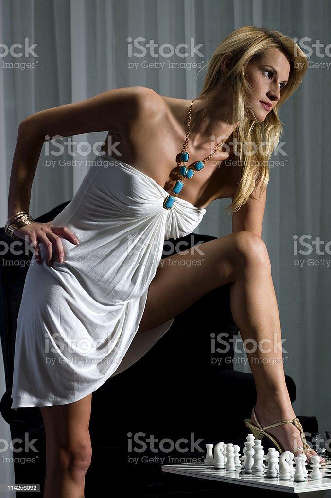 Rebellious Girl royalty-free stock photo