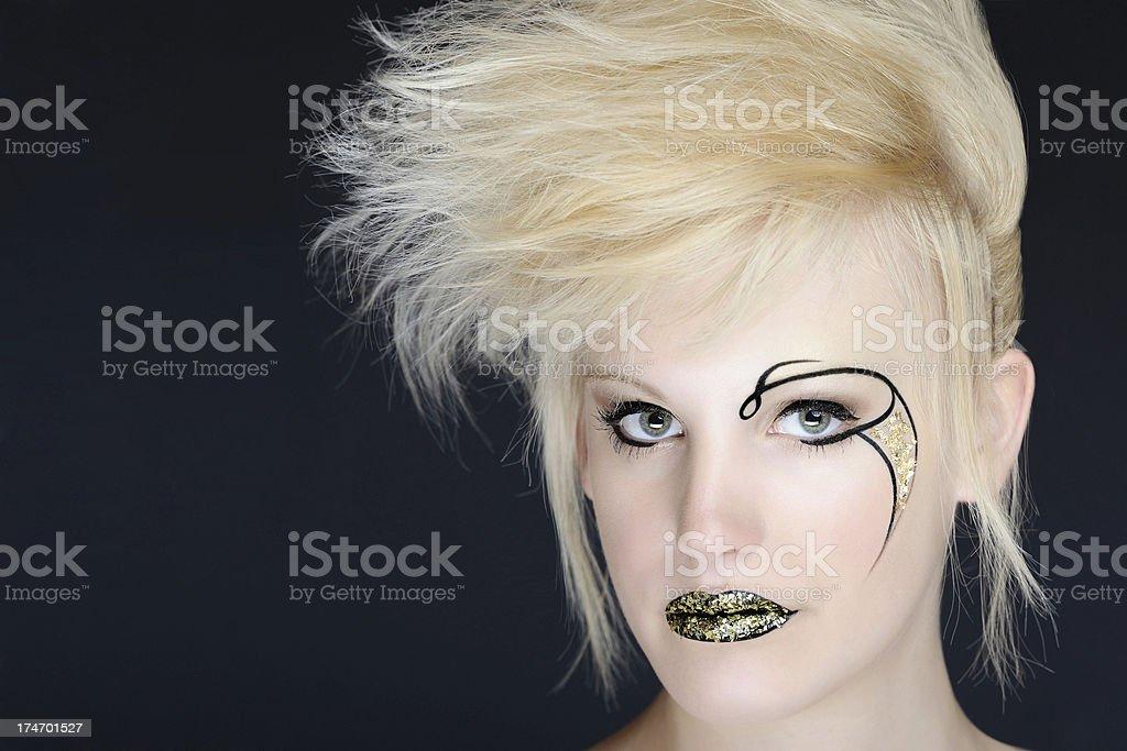 Rebellious Teen - Punk royalty-free stock photo