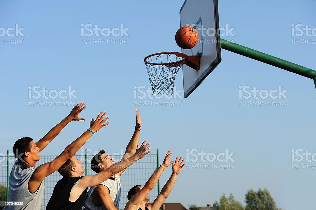 Rebound royalty-free stock photo