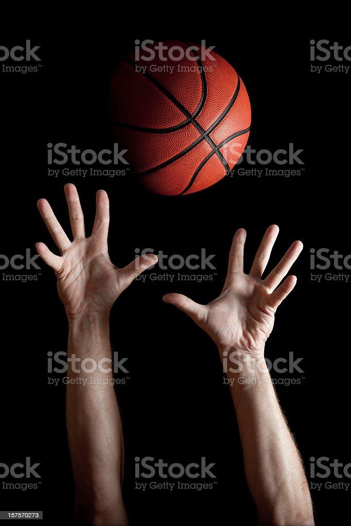 Rebounding stock photo